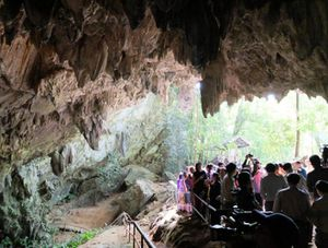 Mở lại hang Tham Luang - nơi diễn ra cuộc giải cứu thần kỳ 13 thành viên đội bóng thiếu niên Thái Lan