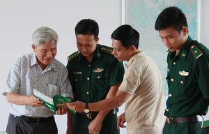 Báo chí Hà Nội đi thực tế, viết về người lính biên phòng miền Tây Nam Bộ