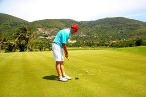 Nhiều tiềm năng phát triển du lịch golf