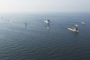 Mỹ tập trận 'khủng' ở vùng Vịnh, quyết lập liên minh đối đầu với Iran