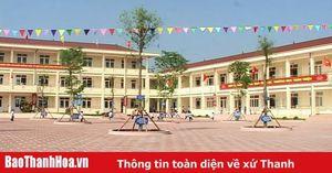 Cấp bằng công nhận đạt chuẩn Quốc gia cho các trường THPT, tiểu học và mầm non trên địa bàn tỉnh