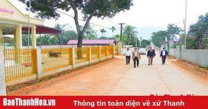 Về thăm thôn nông thôn mới kiểu mẫu đầu tiên của tỉnh