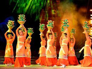 Múa nghi lễ của dân tộc Chăm