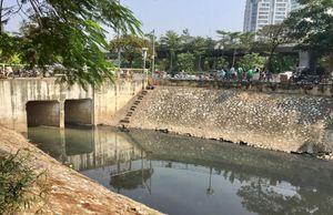 Tháo dỡ khu thí điểm làm sạch nước sông Tô Lịch bằng công nghệ Nhật Bản