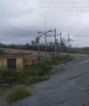 PC Quảng Nam khôi phục cấp điện nhanh do ảnh hưởng bão số 6