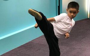 Cậu bé 7 tuổi sở hữu 158 huy chương võ thuật