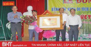Đức Bồng đón nhận bằng di tích lịch sử - văn hóa cấp tỉnh đền thờ Đức Thánh Hai