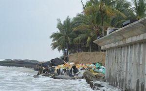 Nghiêm cấm du khách tham quan khu vực biển Cửa Đại