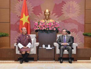 Phó Chủ tịch Quốc hội Phùng Quốc Hiển tiếp Tổng Kiểm toán Nhà nước Bhutan