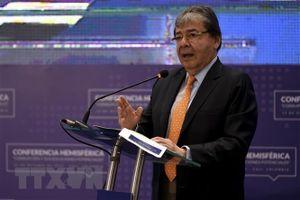 Ngoại trưởng Trujillo trở thành Bộ trưởng quốc phòng Colombia