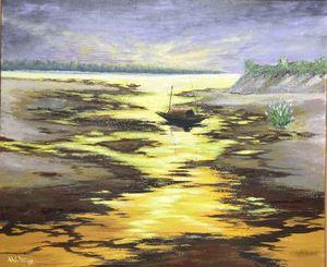 Các họa sĩ Cổ Đô vẽ bức họa đồng quê