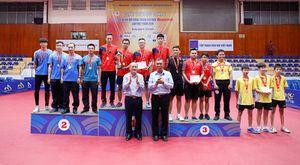 Bế mạc Giải Bóng bàn các câu lạc bộ Hà Nội mở rộng năm 2019