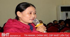 Cử tri đề nghị sớm khắc phục tình trạng thiếu giáo viên ở Hương Khê