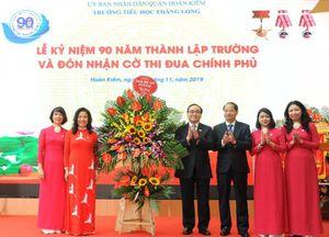 Hà Nội: Trường tiểu học Thăng Long kỷ niệm 90 năm thành lập