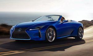 Lexus LC 500 mui trần ra mắt tại Los Angeles Auto Show 2019