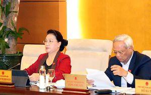 Phiên họp thứ 39 của Ủy ban Thường vụ Quốc hội