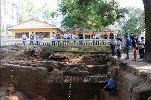 Bảo tồn và phát huy giá trị khu di tích Óc Eo - Ba Thê, Nền Chùa