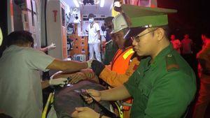 Kịp thời cứu thuyền viên Thái Lan gặp nạn trên biển