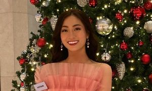 Dự thi trễ, Lương Thùy Linh vẫn tự tin thể hiện tài năng tại 'Hoa hậu Thế giới 2019'