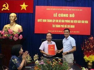 Lễ công bố thành lập Chi bộ VPĐD Báo Văn hóa tại TP.HCM