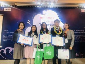 Học sinh Hải Phòng đạt 2 giải nhất hùng biện tiếng Nhật toàn quốc