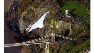 Chuyến đi cuối cùng của máy bay siêu thanh Concorde