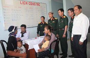 LLVT tỉnh Lâm Đồng thực hiện hành trình 'Quân đội chung tay vì người nghèo'