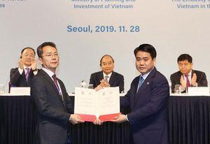 Thủ tướng Chính phủ Nguyễn Xuân Phúc: Mong hợp tác Hàn - Việt thêm những kỳ tích mới