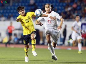U22 Malaysia thua sốc U22 Philippines, đứng trước nguy cơ bị loại