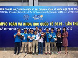 Trường Newton đóng góp nhiều huy chương nhất trong thành tích của đội tuyển Việt Nam tại IMSO 2019