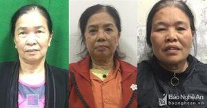 Nghệ An: Bắt 3 phụ nữ chuyên làm giả giấy khám sức khỏe