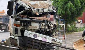 Nam Định: Xe tải tông nhau trực diện, 1 tài xế tử vong tại chỗ