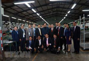 Bế mạc Chương trình gặp gỡ hữu nghị nông dân Việt-Lào-Campuchia