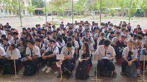 503 học sinh dự Kỳ thi chọn Học sinh giỏi giải toán trên máy tính cầm tay cấp thành phố năm học 2019-2020