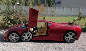 Covini 6SW - siêu xe sáu bánh giá 640.000 USD