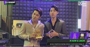 Hoàng Thùy Linh, Jack và K-ICM thắng giải nghệ sĩ châu Á xuất sắc ở MAMA 2019
