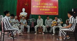 Ban nhạc 'đặc biệt' trong trại giam Vĩnh Quang