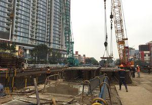 Tuyến đường sắt đô thị, đoạn Nhổn - Ga Hà Nội: Đã vượt qua những 'khúc cua' khó khăn