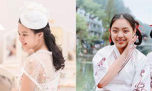 Ngắm hai con gái xinh đẹp, phổng phao của người mẫu Thúy Hạnh