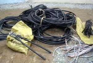 Điều tra vụ mất trộm dây điện ở Cà Mau
