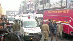 Ấn Độ: Hỏa hoạn bao trùm nhà máy lúc sáng sớm, ít nhất 43 người thiệt mạng