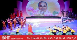 Đức Thọ đạt giải nhất Hội diễn Văn nghệ quần chúng lực lượng vũ trang Hà Tĩnh