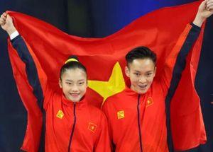 Đoàn Thể thao Việt Nam bảo vệ thành công vị trí thứ 2 trên bảng tổng sắp huy chương