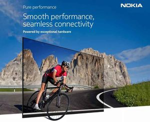 Nokia ra mắt smart TV đầu tiên