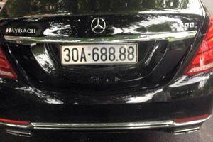 Nữ doanh nhân bí ẩn sở hữu siêu xe Maybach S600 biển 30A68888