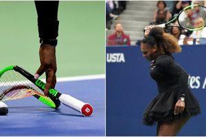 Bất ngờ với số tiền đấu giá chiếc vợt tennis bị hỏng của Serena Williams