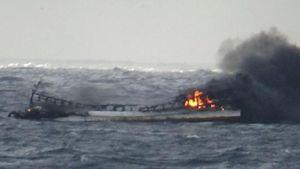 Tìm được 1 thi thể thuyền viên Việt Nam dưới đáy biển Jeju