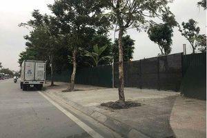 Long Biên: Bãi VLXD không phép bị buộc phải dừng hoạt động