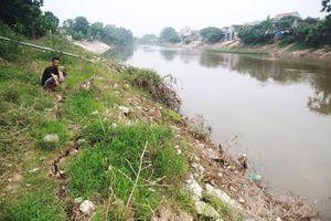 Huyện Chương Mỹ: Nỗi lo sạt lở ven sông Bùi