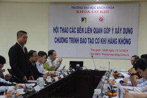 Trường Đại học đầu tiên của Việt Nam đào tạo ngành cơ khí hàng không